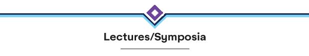Lectures/Symposia