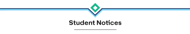 Student Notices