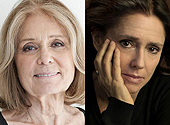 Steinem and Taymor on 'The Glorias'