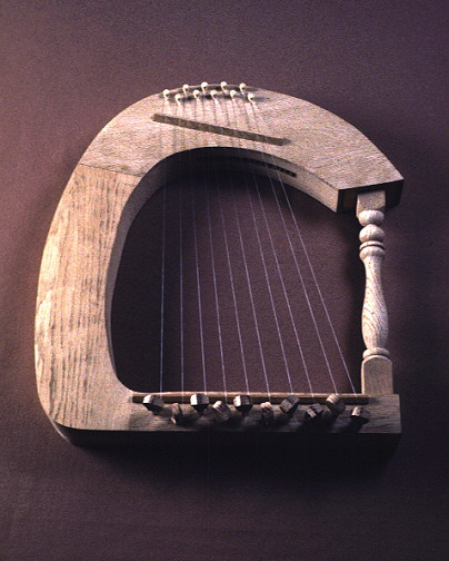 Smith College Museum of Ancient Inventions: Frame Harp