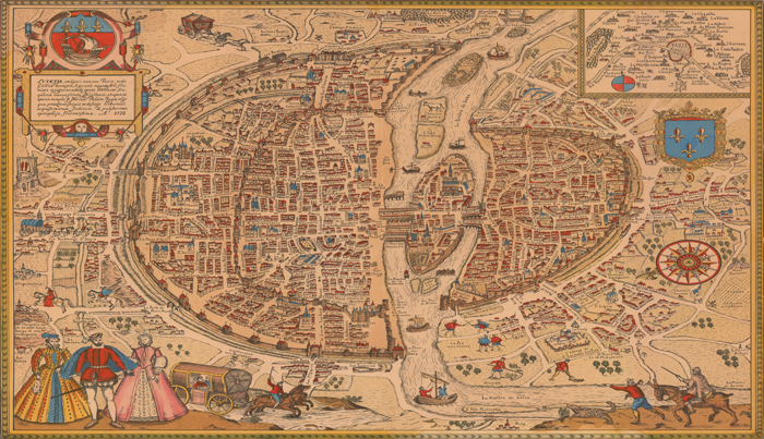 Smith College Insight - Artistic map of paris