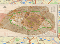 growth historical map of paris.php with Paris on Paris moreover