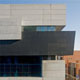 ARTstor, Zaha Hadid, Contemporary Arts Center, Lois and Richard Rosenthal Center for Contemporary Art, Cincinnati, Ohio, exterior, main facade, corner detail, 2001-2003, photographed by Ralph Lieberman