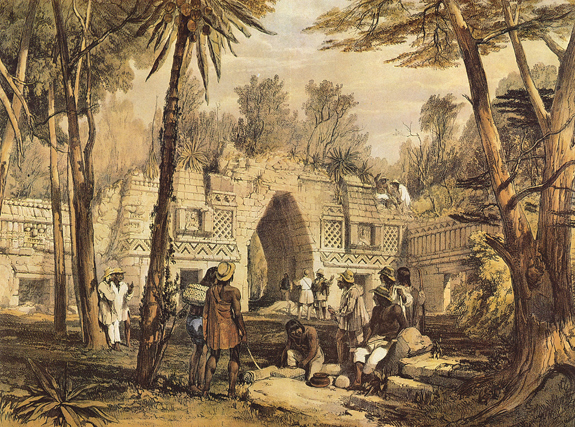 Plate 19, Gateway at Labnah