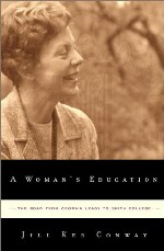 cover of A Woman's Education by Jill Ker Conway