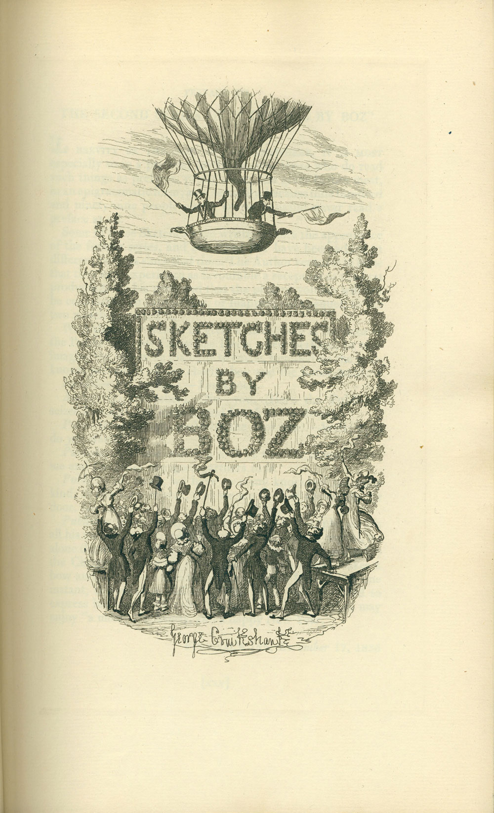 charles dickens essays - sketches by boz