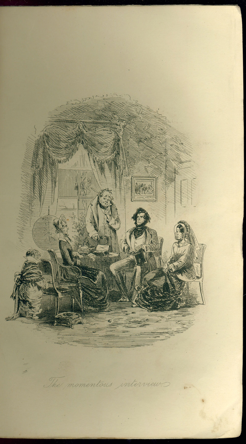 online exhibition charles dickens at college libraries illustration from david copperfield