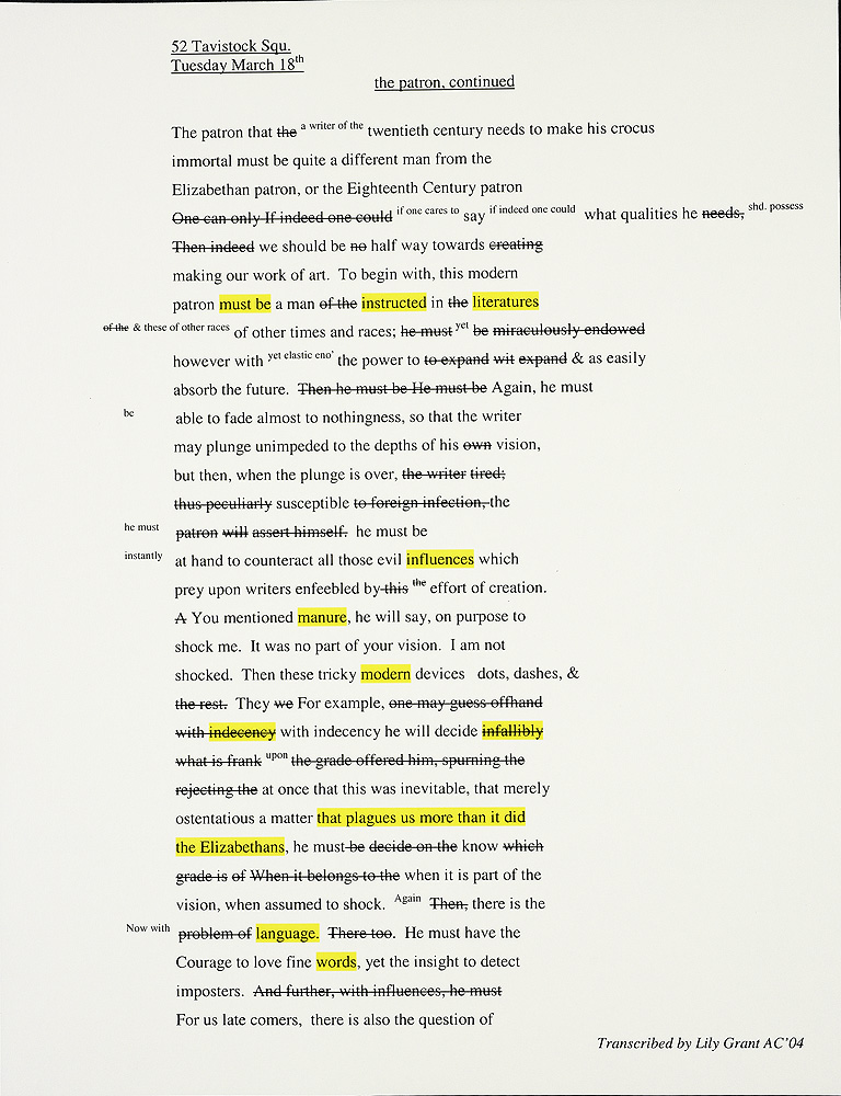 virginia woolf essays full text