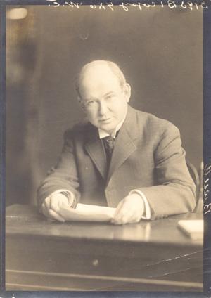 John Spencer Bassett, Professor of History [Smith College Press Board, 1928]