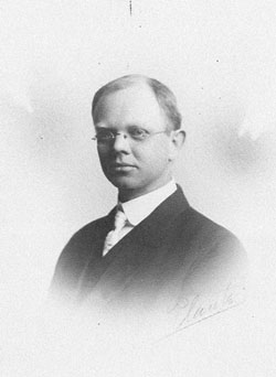 Arthur Taber Jones, circa 1919