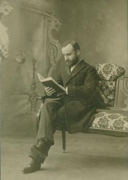 Harry Norman Gardiner, circa 1897.