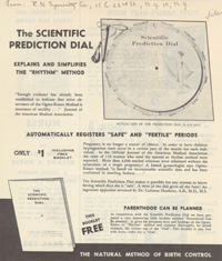 Flyer from PPFA records, undated (
