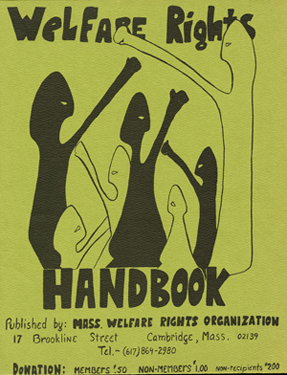 Cover of Welfare Rights Handbook, March 1970