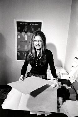 Gloria Steinem, late 1960's