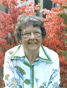 Margaret Paulding, Eastern Association for Physical Education of College Women Merit Award winner, 1970.