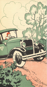 "Brochure, ""Where the RoadsLead,"" 1930"
