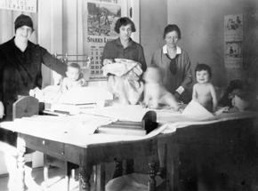 Baby Clinic, 1928