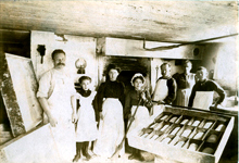 Group of bakers, ca. 1880