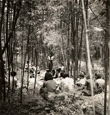 Worship Service, YWCA Girls Camp, Chengdu, China, 1940