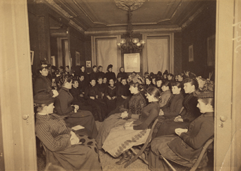 """Miss Grace H. Dodge's Evening Chat,"" 1890"