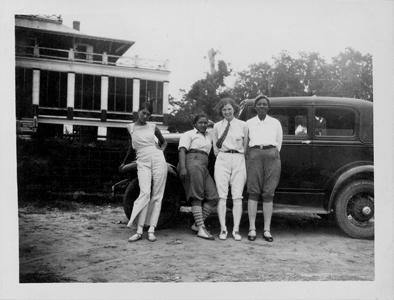 Group at YWCA Student Conference, Waveland, Mississippi, 1931