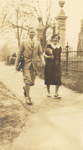 Merle and Margaret Wooster Curti,  Smith College,  May 3, 1926