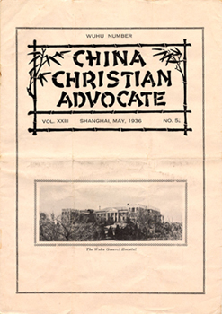 China Christian Advocate, Shanghai, May 1936