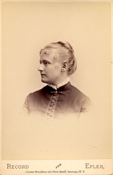 Vida Dutton Scudder, 1884