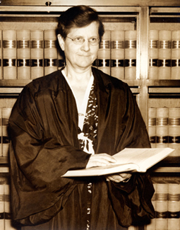 Florence Ellinwood Allen, Judge United States Court of Appeals for the Sixth Circuit, 1940