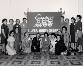 Fall Meeting of the American Council of Railroad Women in their silver anniversary year, 1968
