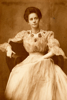 Florence Seaver Slocomb, 1906