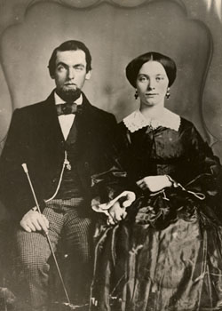 John S. and Frances Casement, taken on their wedding trip, undated