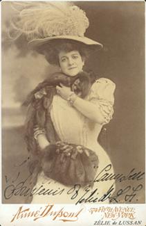 Zélie De Lussan, undated