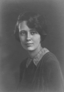 Martha Lavell while at Mills College, 1926