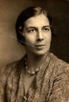 Pessa Polasky Kandinoff in Cincinnati, 1934