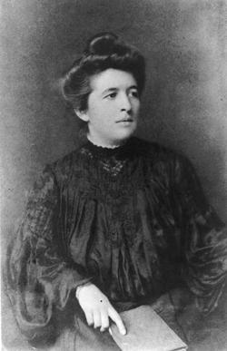 Dorothy Reed Mendenhall, circa 1903
