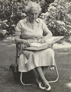 Helen Keller, undated