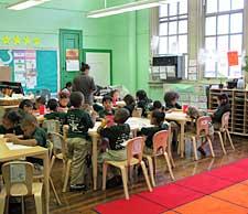 Greenstreet's classroom at KIPP Star Elementary School.