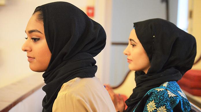 Two members of Al-Iman