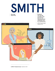 Cover image of the Summer 2020 issue of the Smith Alumnae Quarterly