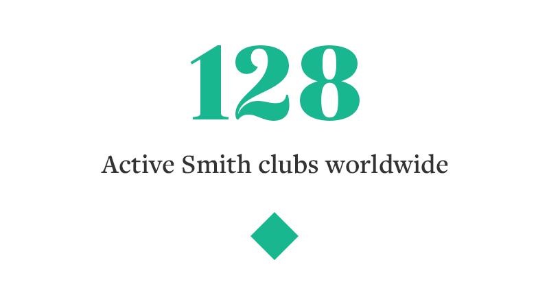 128 ACTIVE SMITH CLUBS WORLDWIDE
