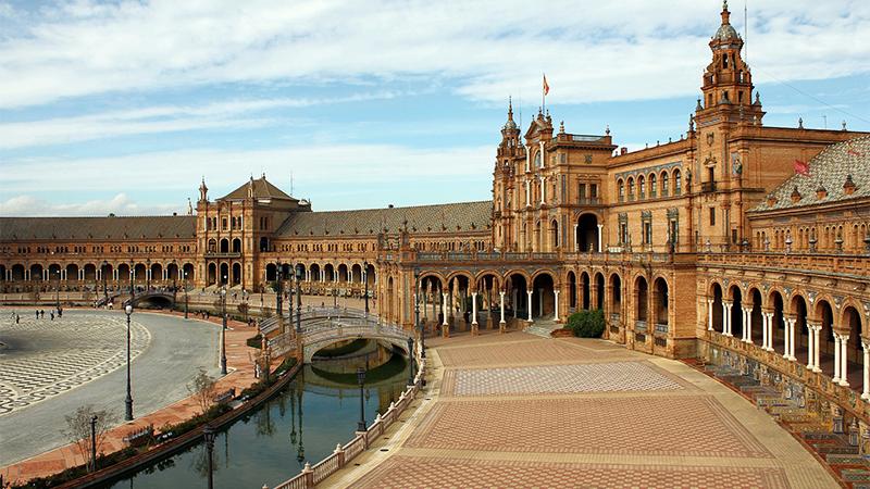 Photo of Plaza de Espana in Seville, Spain