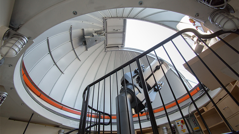 Photo of the McConnell Rooftop Observatory