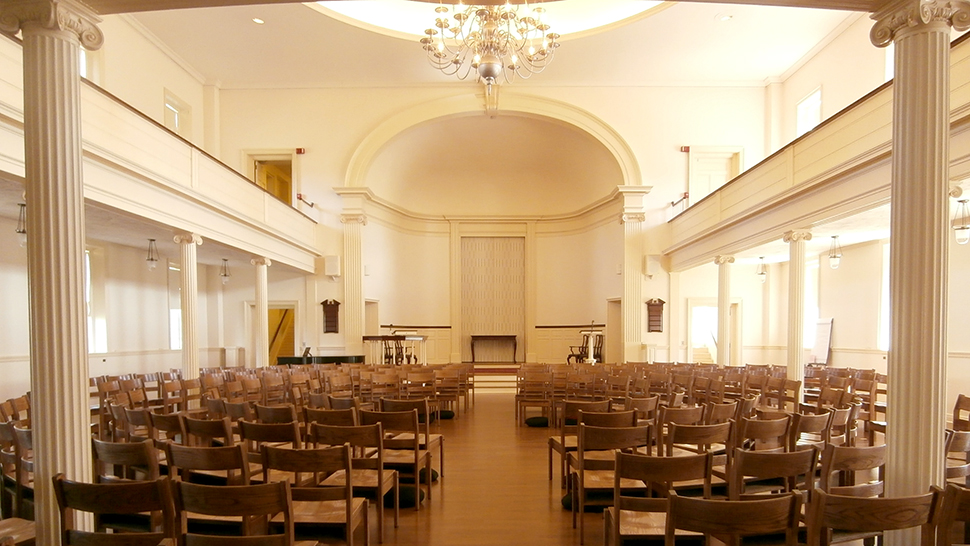 Helen Hills Hills Chapel Sanctuary