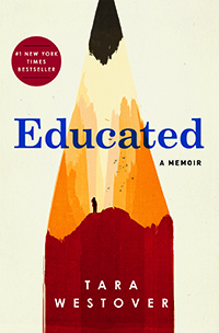 Book jacket image of Educated by Tara Westover