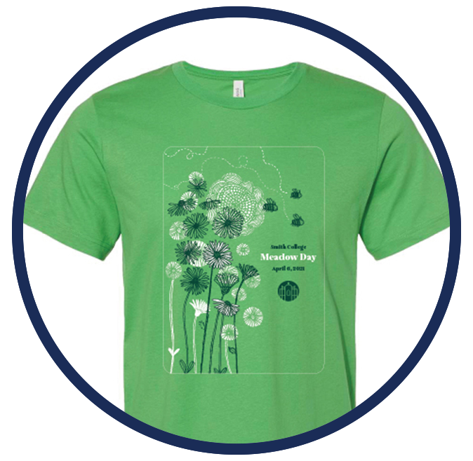 Photo of the green Meadow Day t-shirt