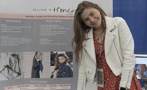 Draper 2019 Semi-Finalist Olivia Goff