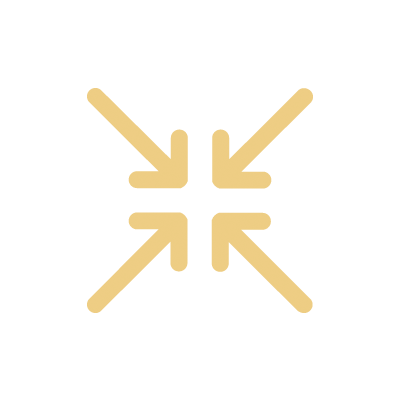 Four arrows pointing at each other in the center
