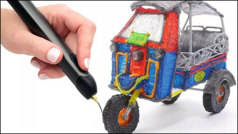 Photo of the 3D doodle pen