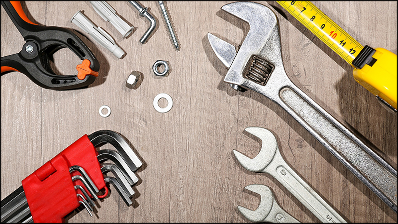 Photo of various tools
